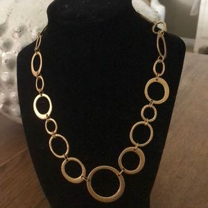 PREMIER DESIGNS gold-tone round loops necklace
